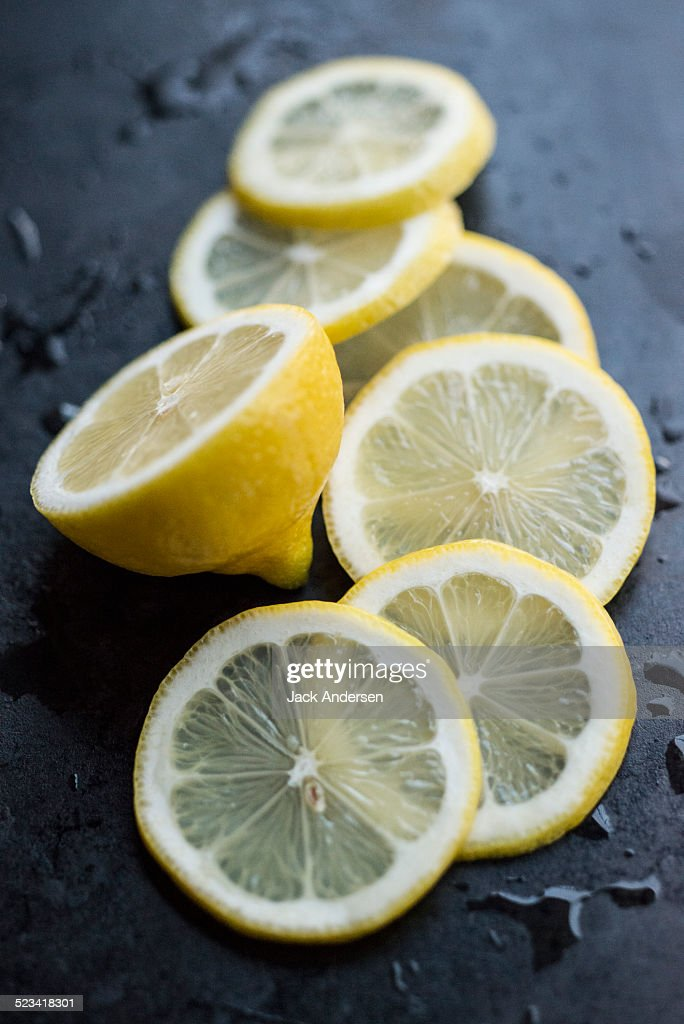 Lemon Slices : Stock Photo