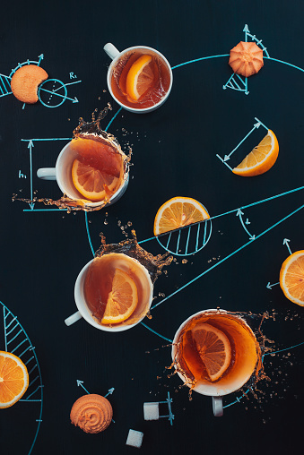 Lemon tea experiment - gettyimageskorea