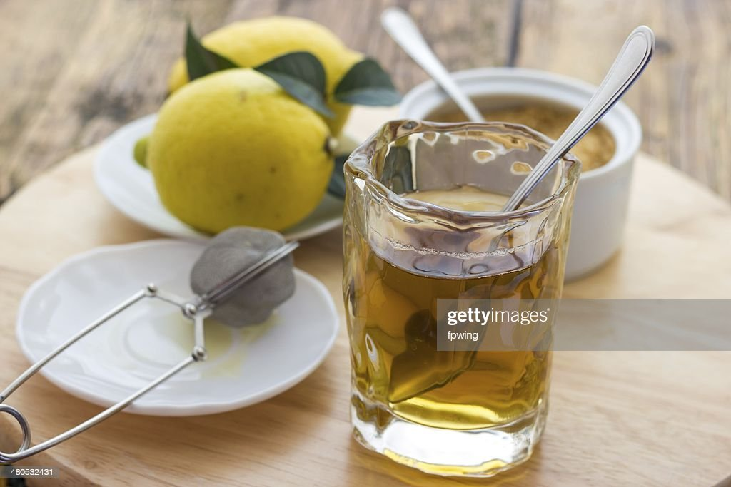 lemon tea : Stock Photo