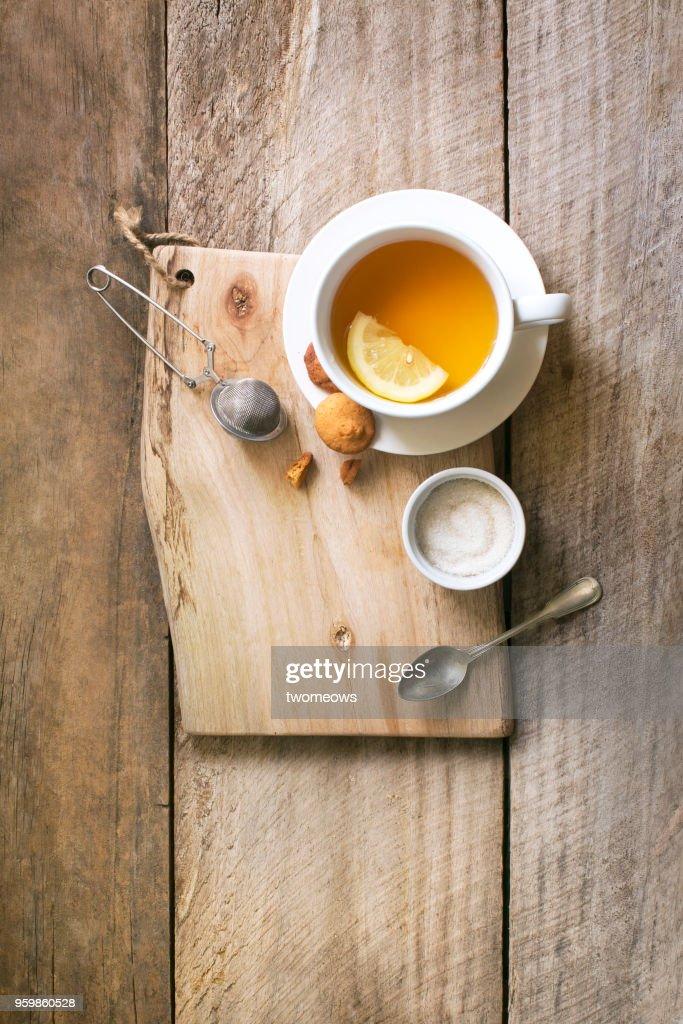 Lemon tea. : Stock-Foto