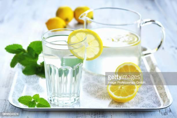lemon water - mariola fuentes fotografías e imágenes de stock