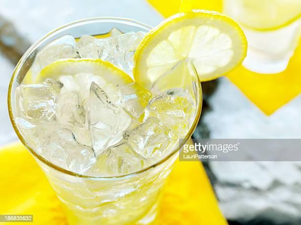 Lemonade on an Outdoor Patio