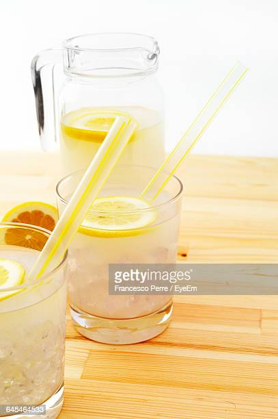 Lemonades On Table