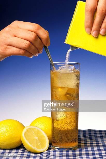 Lemons And Glass Of Iced Tea