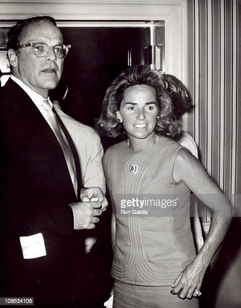 Lemoyne Billings and Ethel Kennedy during Liza Minnelli In Concert May 23 1970 at DAR Constitution Hall in Washington DC United States