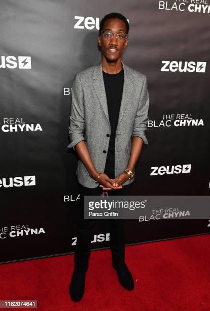 Lemuel Plummer attends The Real Blac Chyna Atlanta premiere screening at Regal Cinemas Atlantic Station Stadium 16 on July 14 2019 in Atlanta Georgia