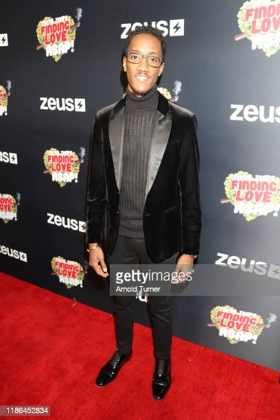 Lemuel Plummer attends Tokyo Toni's Finding Love ASAP Los Angeles premiere at AMC Theaters Universal City Walk on November 08 2019 in Universal City...