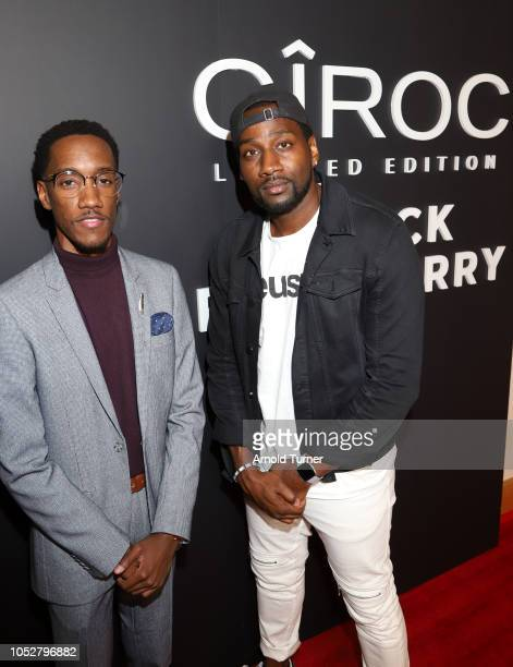 Lemuel Plummer Founder/CEO of Zeus Network and DeStorm Power President of Zeus Network attend the ZEUS New Series Premiere Party X CIROC Black...