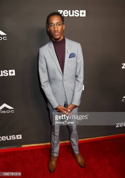 Lemuel Plummer Founder/CEO of Zeus Network attends the ZEUS New Series Premiere Party X CIROC Black Raspberry on October 19 2018 in Burbank California