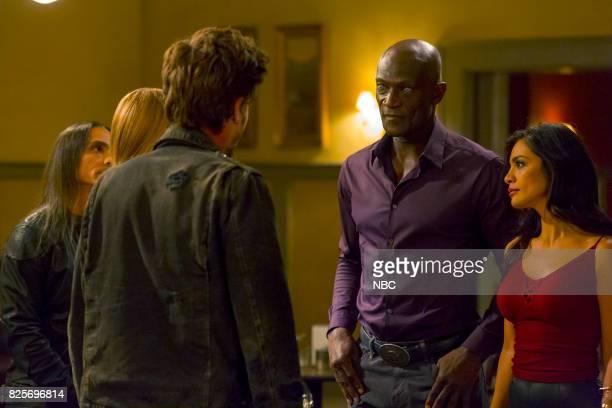 TEXAS 'Lemuel Unchained' Episode 103 Pictured Peter Mensah as Lemuel Odelya Halevi as Pia