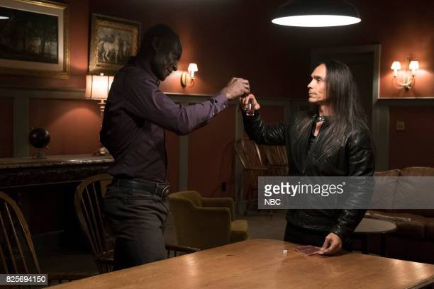 TEXAS 'Lemuel Unchained' Episode 103 Pictured Peter Mensah as Lemuel Zahn McClarnon as Zachariah