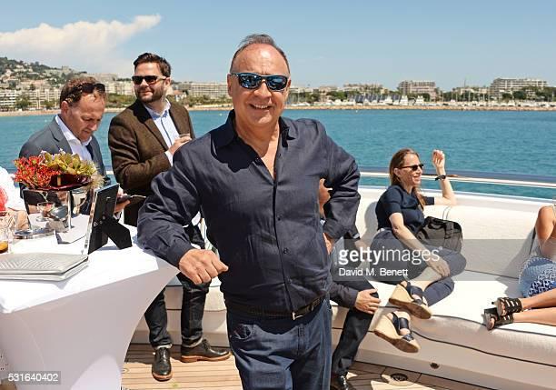 Len Blavatnik attends a private luncheon hosted by Len Blavatnik and Harvey Weinstein aboard Odessa II on May 15 2016 in Cannes France