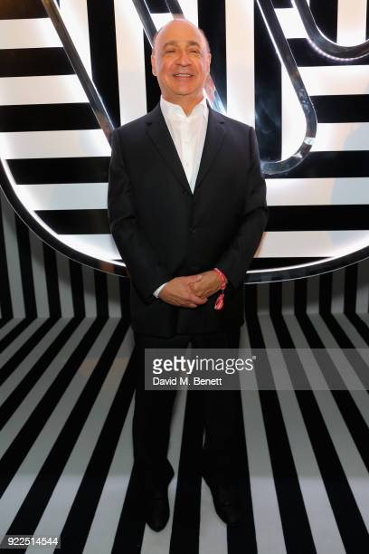 Len Blavatnik attends the Brits Awards 2018 After Party hosted by Warner Music Group Ciroc and British GQ at Freemasons Hall on February 21 2018 in...