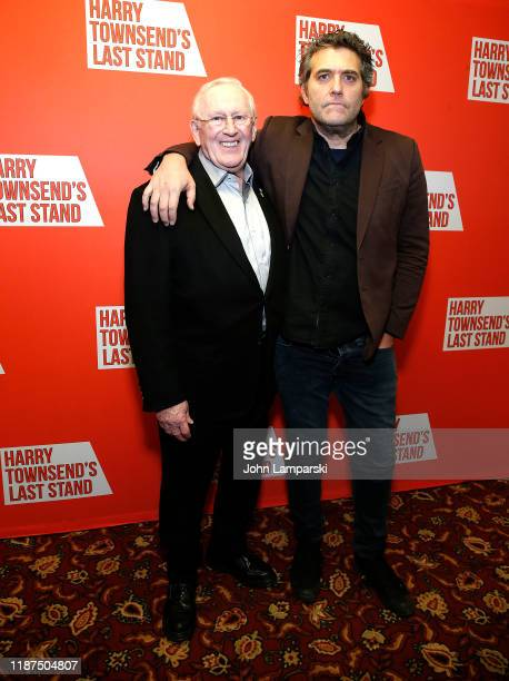 "Len Cariou and Craig Bierko attend ""Harry Townsend's Last Stand"" celebrating Len Cariou & Craig Bierko at Sardis restaurant on November 13, 2019 in..."