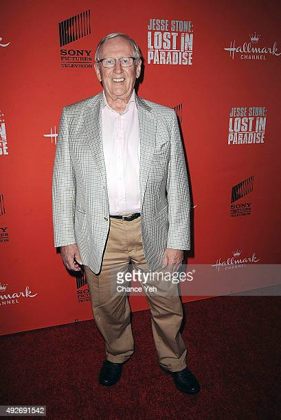 """Len Cariou attends """"Jesse Stone: Lost In Paradise"""" New York premiere at Roxy Hotel on October 14, 2015 in New York City."""