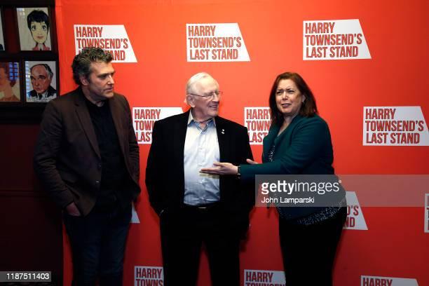 Len Cariou Craig Bierko Karen Carpenter attend Harry Townsend's Last Stand celebrating Len Cariou Craig Bierko at Sardis restaurant on November 13...