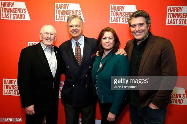 Len Cariou Dennis Grimaldi Karen Carpenter and Craig Bierko attend Harry Townsend's Last Stand celebrating Len Cariou Craig Bierko at Sardis...