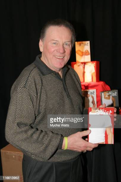 Len Dawson during Official Celebrity Gift Lounge Super Bowl XL Produced by On 3 Productions Day 3 at Renaissance Center in Detroit Michigan United...
