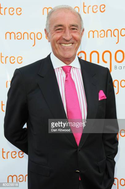 Len Goodman arrives for 'An Audience With Beverley Knight' at the Mango Tree restaurant on July 21 2008 in London England