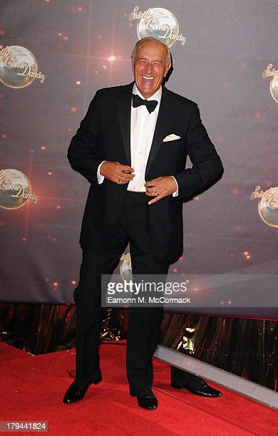 Len Goodman attends the red carpet launch for Strictly Come Dancing at Elstree Studios on September 3 2013 in Borehamwood England