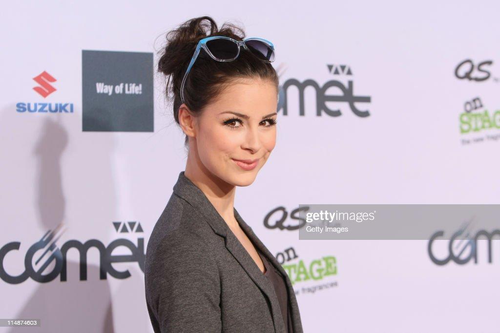 Lena attends the VIVA Comet 2011 Awards at Koenig-Pilsner Arena on May 27, 2011 in Oberhausen, Germany.