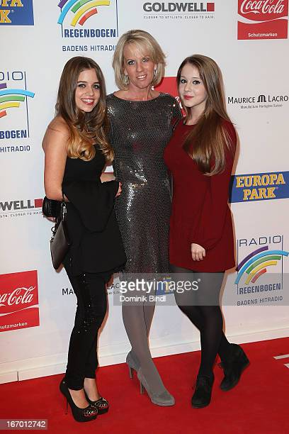 Lena Britta and Enya Elstner attend the Radio Regenbogen Awards 2013 at Europapark on April 19 2013 in Rust Germany