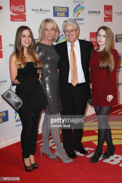 Lena Britta Frank and Enya Elstner attend the Radio Regenbogen Award 2013 at Europapark on April 19 2013 in Rust Germany