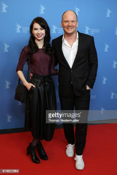 Lena Buhl and Philipp Jedicke attend the 'Shut Up and Play the Piano' premiere during the 68th Berlinale International Film Festival Berlin at Kino...