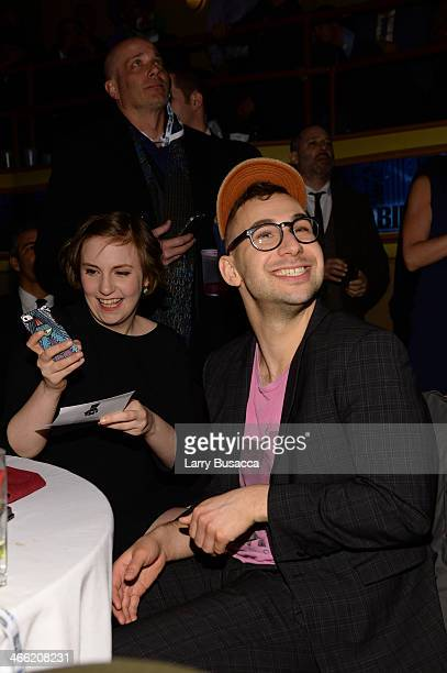 "Lena Dunham and Jack Antonoff attend ""Howard Stern's Birthday Bash"" presented by SiriusXM, produced by Howard Stern Productions at Hammerstein..."