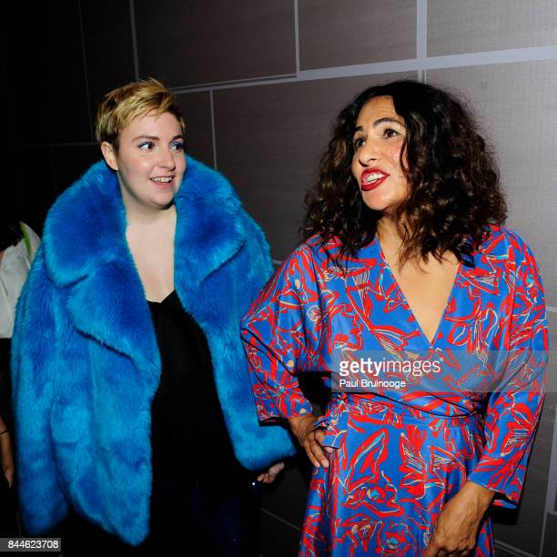 Lena Dunham and Jenni Konner attend Daily Front Row's Fashion Media Awards at Four Seasons Hotel New York Downtown on September 8 2017 in New York...