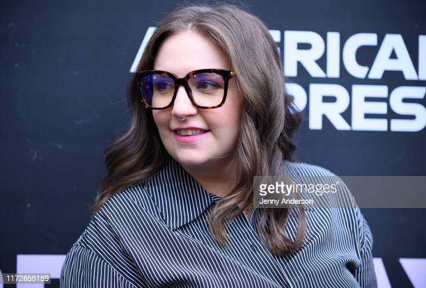 """Lena Dunham attends Broadway opening night of """"Betrayal"""" at The Bernard B. Jacobs Theatre on September 5, 2019 in New York City."""
