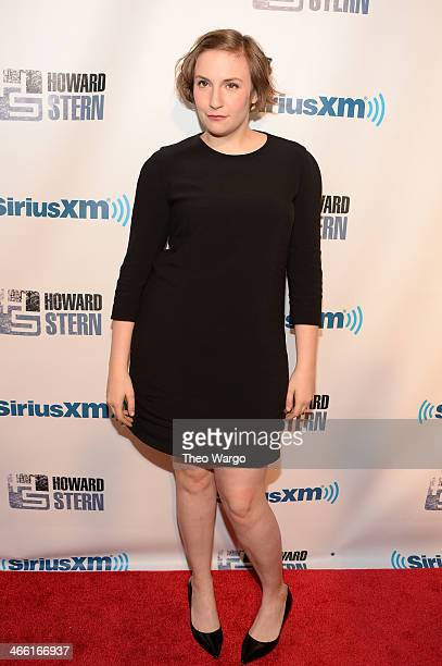Lena Dunham attends Howard Stern's Birthday Bash presented by SiriusXM produced by Howard Stern Productions at Hammerstein Ballroom on January 31...