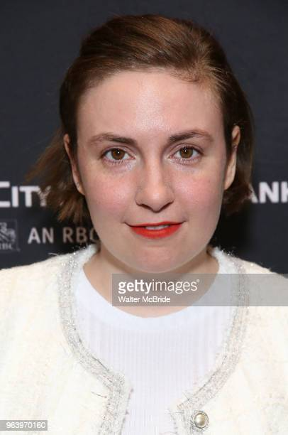 Lena Dunham attends 'The Boys in the Band' 50th Anniversary Celebration at The Booth Theatre on May 30 2018 in New York City