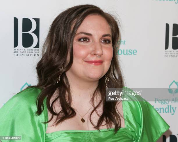 Lena Dunham attends the 'Friendly House' 30th annual awards luncheon at The Beverly Hilton Hotel on October 26, 2019 in Beverly Hills, California.