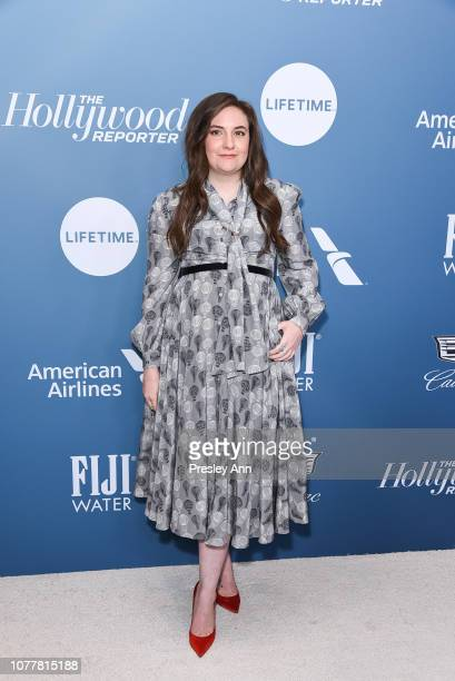 Lena Dunham attends The Hollywood Reporter's Power 100 Women In Entertainment at Milk Studios on December 05, 2018 in Los Angeles, California.