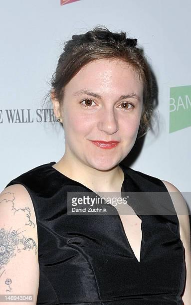 """Lena Dunham attends the """"Nobody Walks"""" premiere during BAMcinemaFest 2012 New York at BAM Rose Cinemas on June 23, 2012 in New York City."""