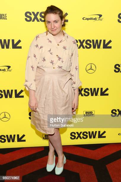 Lena Dunham attends the premiere of Half the Picture during SXSW at Alamo Lamar on March 10 2018 in Austin Texas