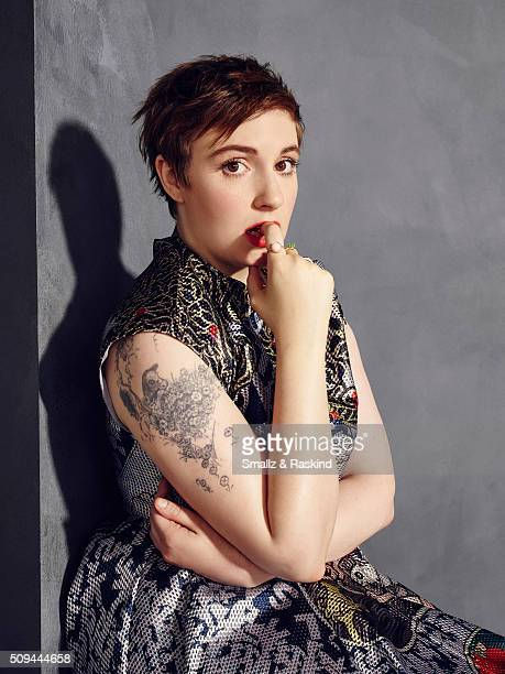 Lena Dunham is photographed for The Hollywood Reporter on May 31 2015 in Los Angeles California