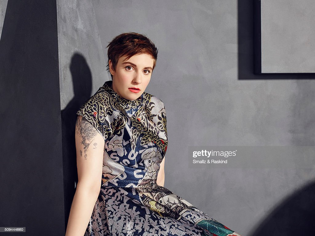 Lena Dunham is photographed for The Hollywood Reporter on May 31, 2015 in Los Angeles, California.