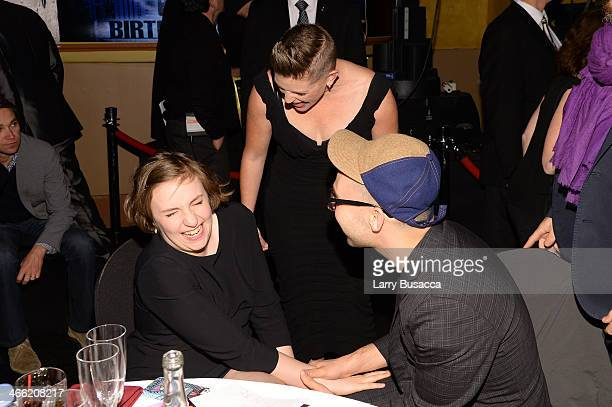 "Lena Dunham, Natalie Maines and Jack Antonoff attend ""Howard Stern's Birthday Bash"" presented by SiriusXM, produced by Howard Stern Productions at..."
