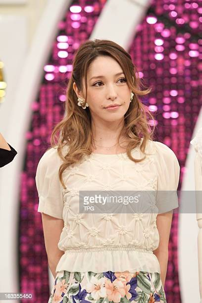 Lena Fujii attended a TV show on Thursday March 07 2013 in Taipei Taiwan China