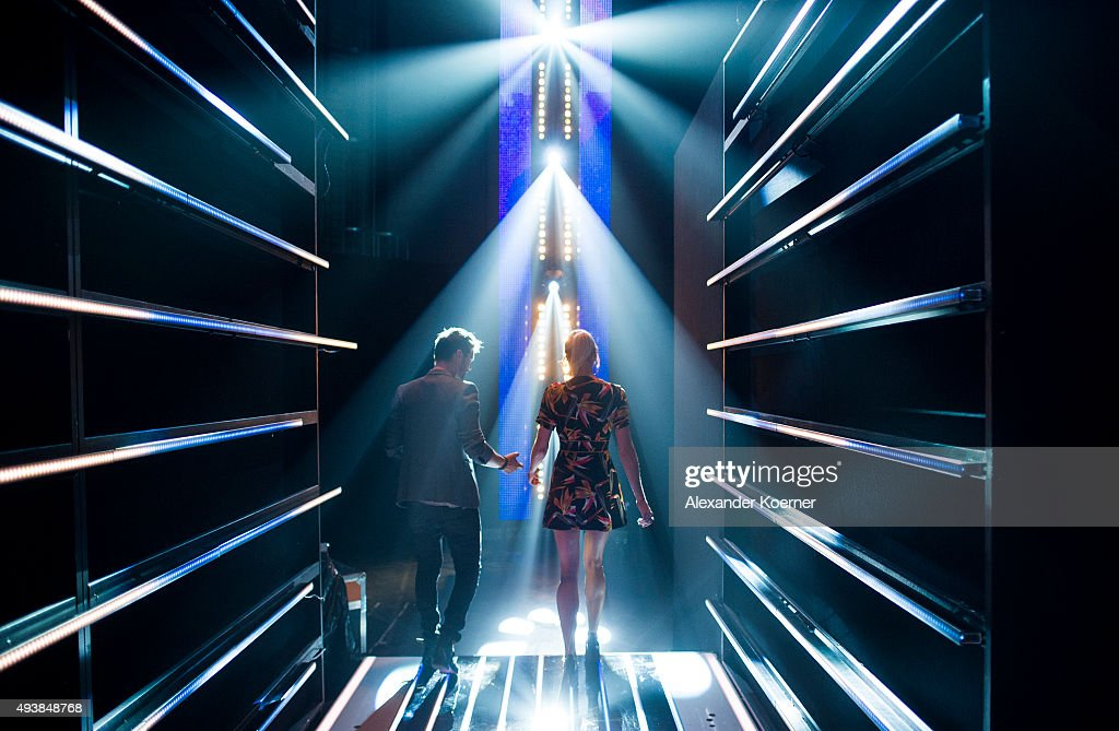 Lena Gercke Backstage At The Voice Of Germany