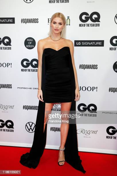 Lena Gercke arrives for the 21st GQ Men of the Year Award at Komische Oper on November 07, 2019 in Berlin, Germany.