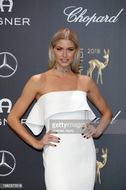 Lena Gercke attends the 70th Bambi Awards at Stage Theater on November 16, 2018 in Berlin, Germany.