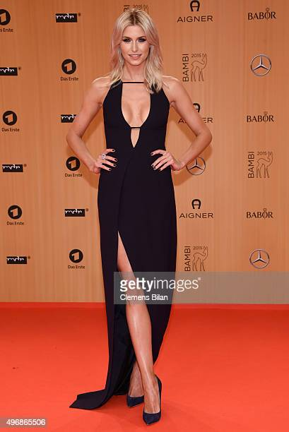 Lena Gercke attends the Bambi Awards 2015 at Stage Theater on November 12 2015 in Berlin Germany