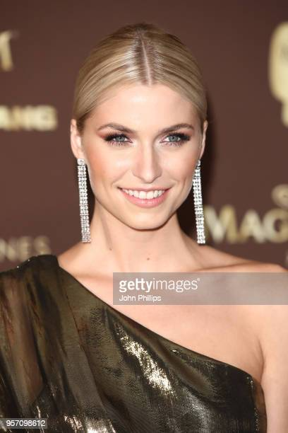 Lena Gercke attends the Magnum VIP Party during the 71st annual Cannes Film Festival at Magnum Beach on May 10 2018 in Cannes France