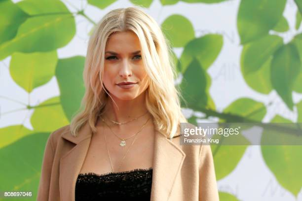 Lena Gercke attends the Marc Cain Fashion Show Spring/Summer 2018 at ewerk on July 4 2017 in Berlin Germany