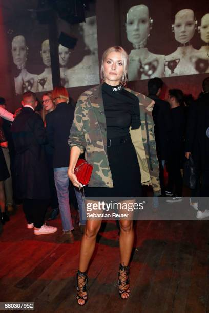 Lena Gercke attends the Moncler X Stylebopcom launch event at the Musikbrauerei on October 11 2017 in Berlin Germany