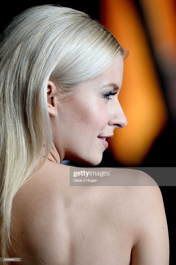Lena Gercke attends the World Premiere of 'Exodus Gods and Kings' at Odeon Leicester Square on December 3, 2014 in London, England.