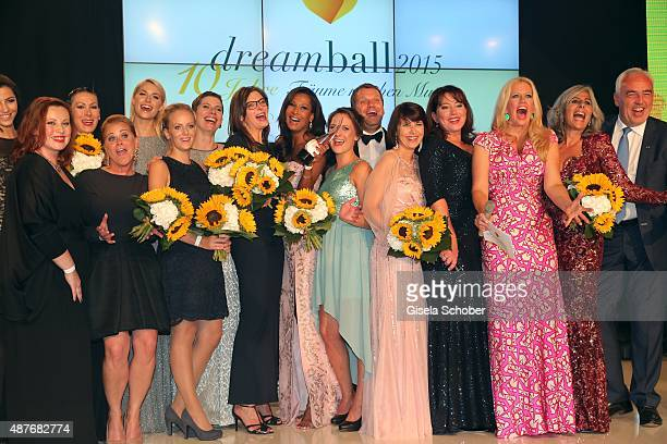 Lena Gercke, Claudia Reinery,Marie Amière,Ruth Neri, Barbara Schoeneberger, Nathalie Roos during the 10th anniversary of 'Dreamball' at Ritz Carlton...